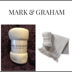 💕Mark & Graham Colorblock Throw Blanket💕